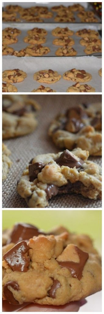 OVER THE TOP REESE'S PEANUT BUTTER CUP COOKIES | Peanut ...