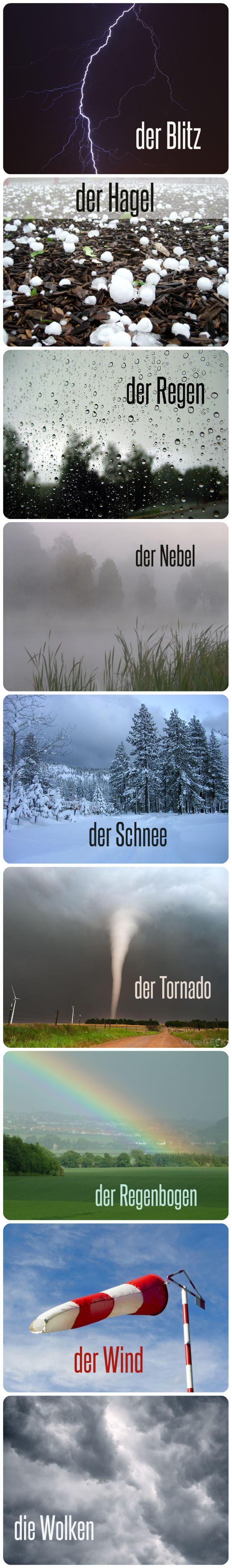 Wettererscheinungen: