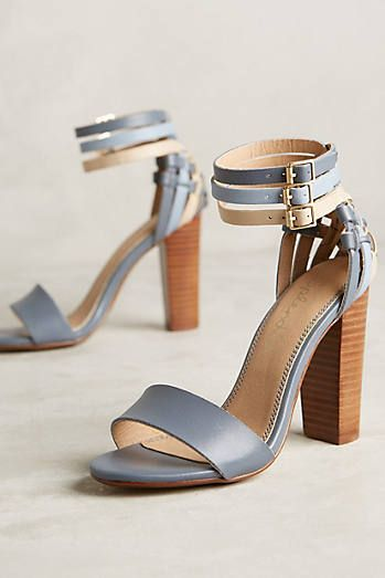 Fashionable Strappy Shoes