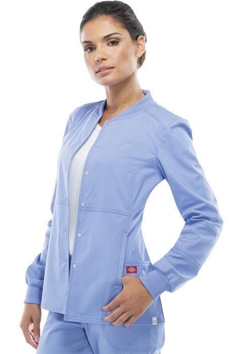Dickies EDS Signature Snap Front Warm-Up Scrub Jacket