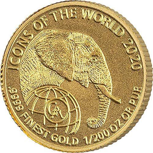 Topschnaeppchendsh Top Neuheit Offizielle Goldmunze 1 200 Unze Gold Ruanda Elefant 2020 Topschnaeppchendsh In 2020 Unze Gold Elefant Gold