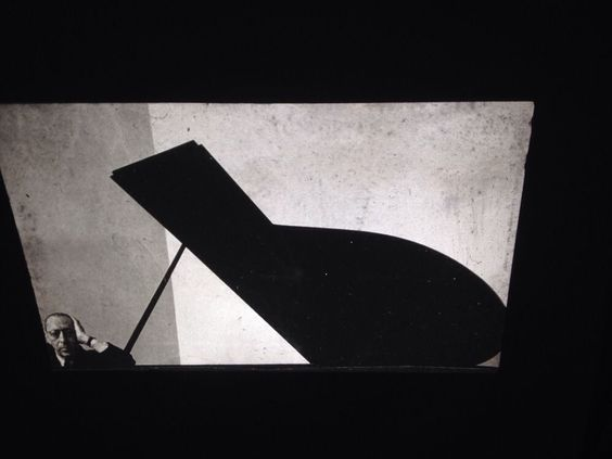 "Arnold Newman ""Igor Stravinsky 1946"" Photography 35mm Art Slide"