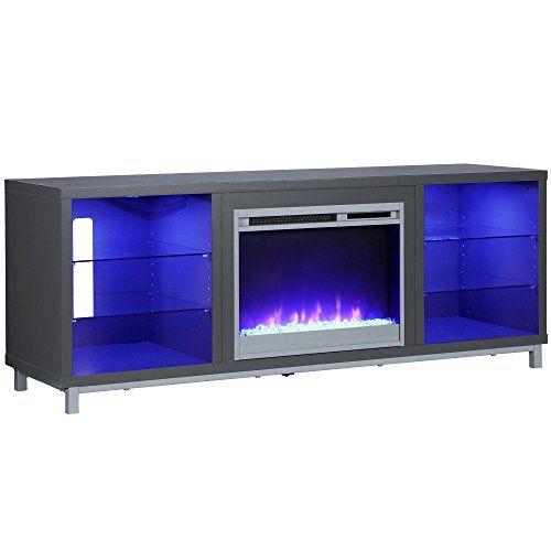 Ameriwood Home 1822296com Lumina Fireplace Tv Stand Fireplace Tv