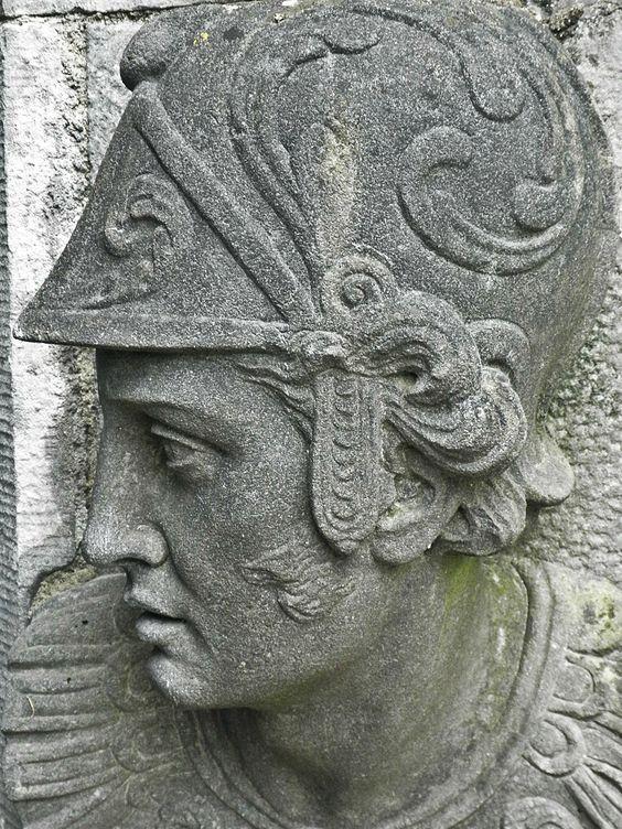 Carving on Kilkenny Castle; Kilkenny