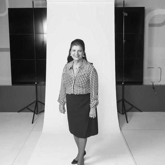 Luiza Helena Trajano, presidente do conselho do Magazine Luiza, defende cotas temporárias nas empresas para mulheres chegarem a posições de liderança (Foto: Gabriel Rinaldi / Editora Globo)