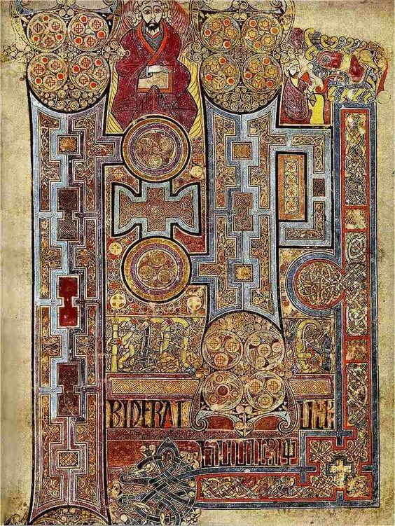 Libro de Kells: el manuscrito medieval más famoso está disponible en línea