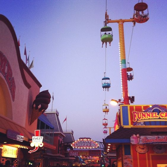 Santa Cruz Boardwalk - @kaylynnellis- #webstagram
