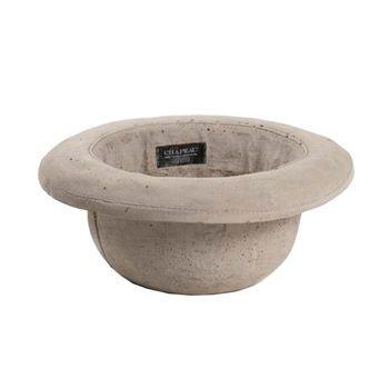Concrete Bowler Hat Plant Holder