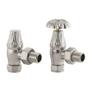 upright radiator valves brushed - Google Search