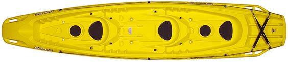 Amazon.com : BIC Kalao Deluxe Kayak, Yellow : Sports & Outdoors