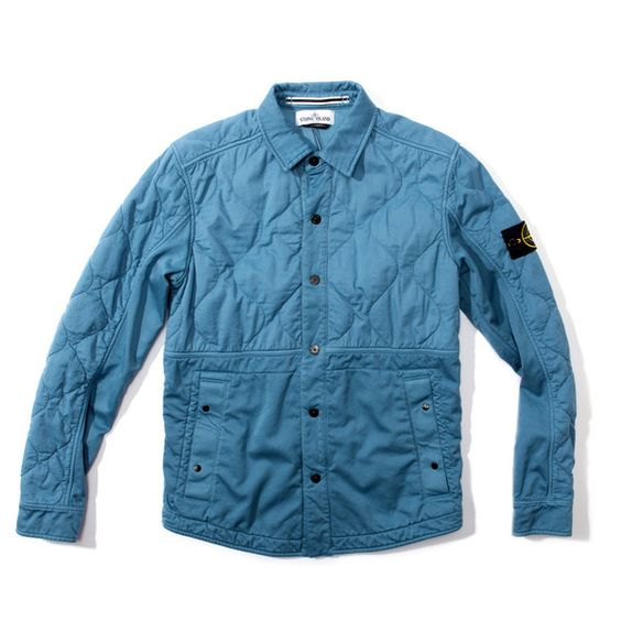 quilted brushed island quilted quilted work mens ss17 stone island ...