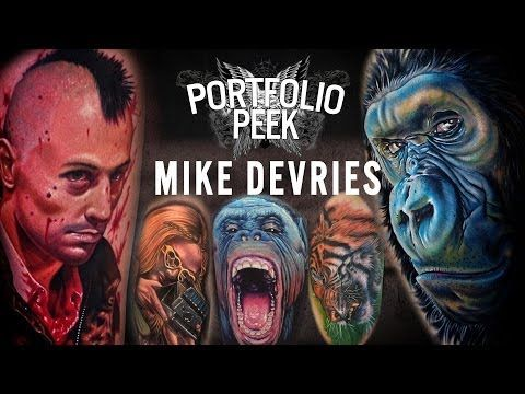 Sullen TV Presents a BRAND NEW VIDEO 'Portfolio Peek' with the awesome Mike DeVries!!! Follow Facebook: https://www.facebook.com/SullenTVNetwork Follow Blog:  http://sullentv.tumblr.com/ #sullentv #sullen #sullenclothing #sullenartcollective #tattoos #tattoo #tattooed #art #ink #artist #realistic #realism #blackandgrey #MikeDeVries #portfoliopeek