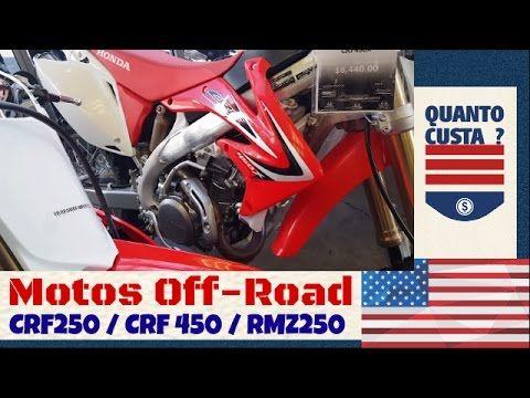 MOTOS: Motos de Motocross e Quadriciclos - CRF250 - CRF45...