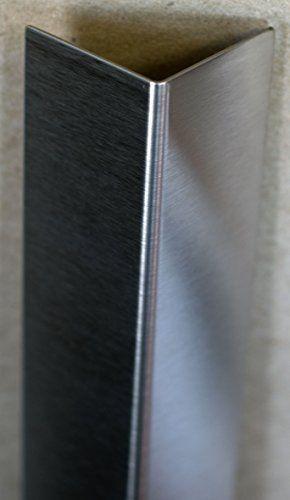 "Buy 2 per corner - Stainless Corner Guard, 1.5"" X 1.5"" (48"" Long) Ideal Corp. https://www.amazon.com/dp/B0046B5Y8W/ref=cm_sw_r_pi_dp_x_d-OQxbV77D499"