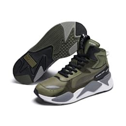 RS X Midtop Utility Trainers Pumas sko, joggesko, skinn  Pumas shoes, Sneakers, Leather