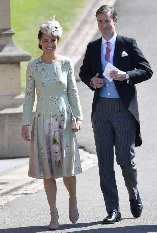 Royale Hochzeit Die Familie Kommt An Der Kapelle An Coole Kleider Pippa Middleton Prinz Harry Hochzeit