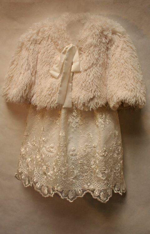 Faux Fur Cape by Isabel Garreton