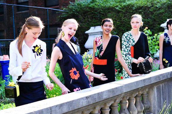 招待、コレクション#Crucero2016のショー(ああ!)完璧なドレスのhttp:// bit.ly/1QU4DIV