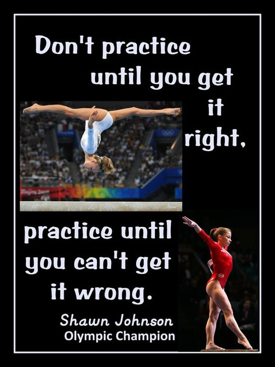 Gymnastics Poster Shawn Johnson