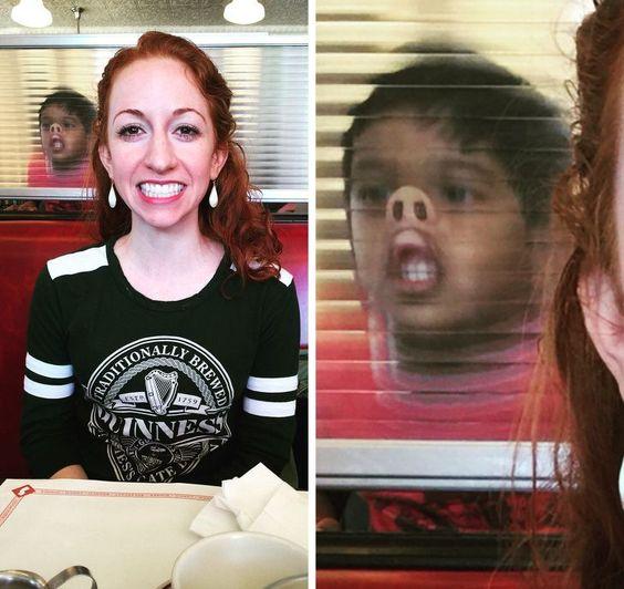 16 απίστευτες φωτογραφίες που κάτι τρομερό γίνεται στο βάθος