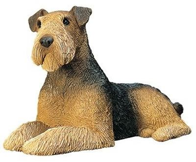 Airedale Terrier Figurine by Sandicast. Available at AllSculptures.com