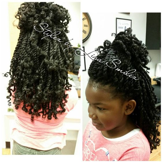 Kids crochet, Kinky twists and Twists on Pinterest