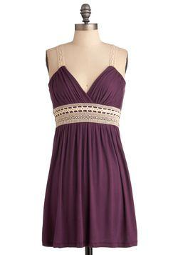 Plum Inspired Dress