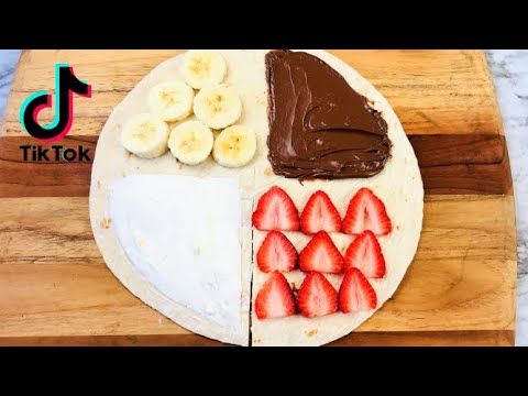 Tiktok Tortilla Wrap Hack Life Changing Tik Tok Tortilla Wrap Hack Dessert Wrap Hack Wrap Hack Youtube In 2021 Tortilla Wraps Food Tortilla Dessert