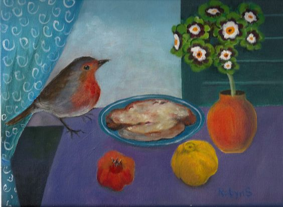 Have Dogs, Will Travel: Still life with Robin
