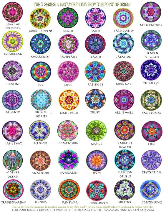 Mandalas speak to the soul. They are art, yet they are more than art, the same way we are each our selves, and yet we …