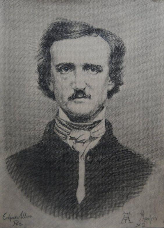 Edgar Allan Poe by AthanArt.deviantart.com on @DeviantArt
