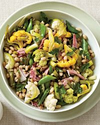 Giardiniera with Ham and White Beans Recipe from Food & Wine