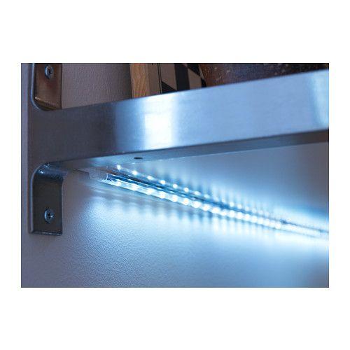 Under Cabinet Led Flexible Light Strip Kit 500 Cm: LED, Ikea And Led Light Strips On Pinterest