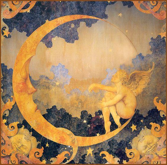 """Sweet Lullaby"" ~ Daniel Merriam ~ Watercolorist Extraordinaire ~ Miks' Pics ""Daniel Merriam ll"" board @ http://www.pinterest.com/msmgish/daniel-merriam-ll/:"
