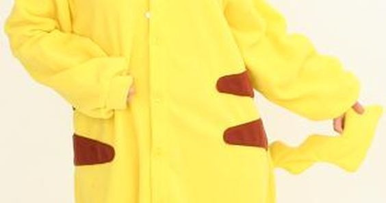 Disfraz de Pikachu hecho en casa