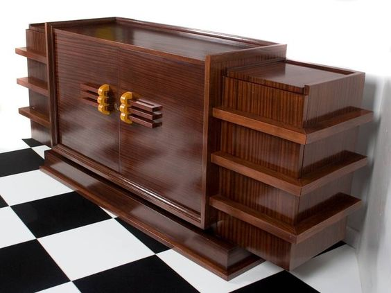 french art deco period rosewood buffet from a unique collection of antique and modern art deco style rosewood