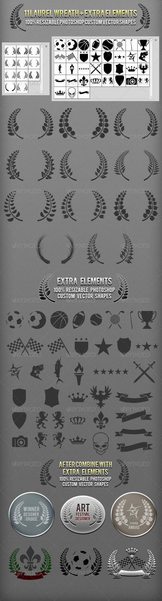 Create Your Own Photoshop Custom Shapes
