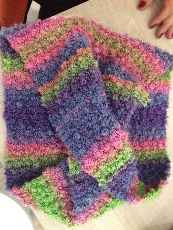 Como fazer uma gola de tricot (50 malhas)