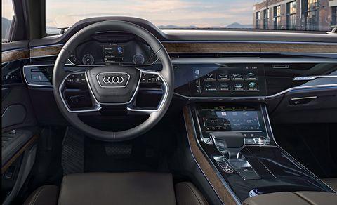Audi A8 L 2020 Interior