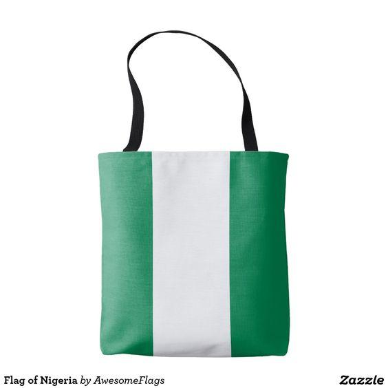 Flag of Nigeria Tote Bag