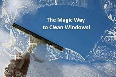 """Photo: I have been asked to post this again!! DON'T FORGET TO """"HIT"""" SHARE SO IT WILL SAVE TO YOUR TIMELINE FOR FUTURE REFERENCE… HERE'S A MAGICAL WAY TO CLEAN YOUR WINDOWS!!!   This is the best way EVER to clean your windows... No drying is needed, and you won't have any spots or streaks on your window! THIS IS ALSO GOOD FOR WINDOWS THAT HAVE THAT CLOUDY, SPOTTED LOOK TO THEM FROM CALCIFICATION*******  You can clean 2 big sliding glass doors and 8 large windows in minutes!!!  Here are the…"""