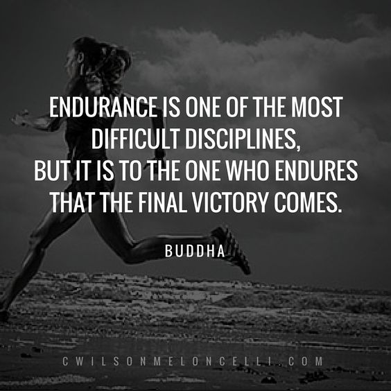Endurance is the ability or strength to continue or last, especially despite fatigue, stress, or other adverse conditions; it is a lasting quality; stamina; longevity; durability. To endure requires balance, strength, proper training and the right mindset. If you are able to endure every part of your sports performance, then success is within your reach! Read article