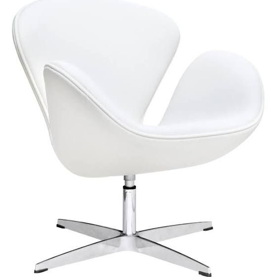 reproduction swan chairs affordable white