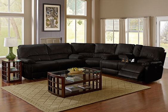 American Signature Furniture Coronado II Leather Collection 3 Pc Power Rec