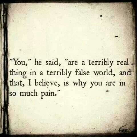 Emilie Autumn quote that reminds me of The Velveteen Rabbit .  ~BE REAL~ I go with my soul...I don't dig bullshit...I don't. This world can be hard on me.: