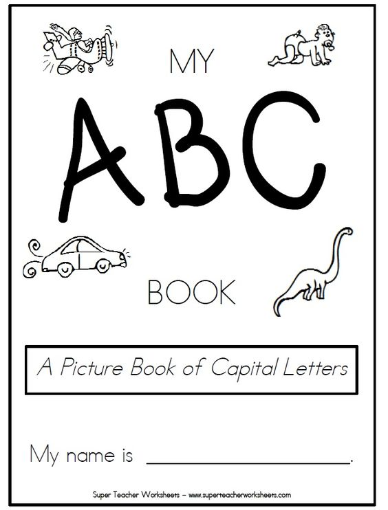 Check out this pintable book of capital letters. Students can ...