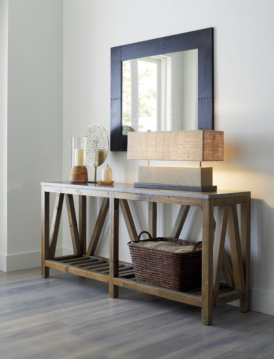 Foyer Table Crate And Barrel : Modern farmhouse crate and barrel entryway on pinterest