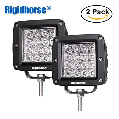 Led Pods Light Rigidhorse 12d Quad Row 2 Pcs 4 Led Light Bar 90w