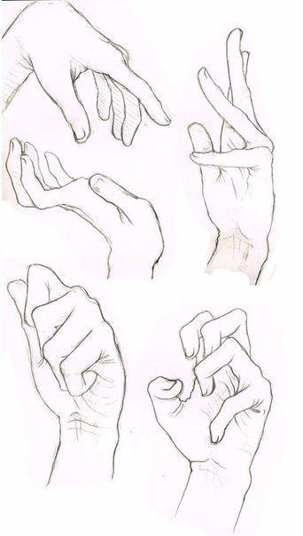 Mi Dibujo De Manos Esta Algo Flojo Por Lo Que Espero Que Este Tablero Les Sirva Tanto A Ustedes Como Lo Hara Manos Para Dibujar Manos Dibujo Referencia Manual