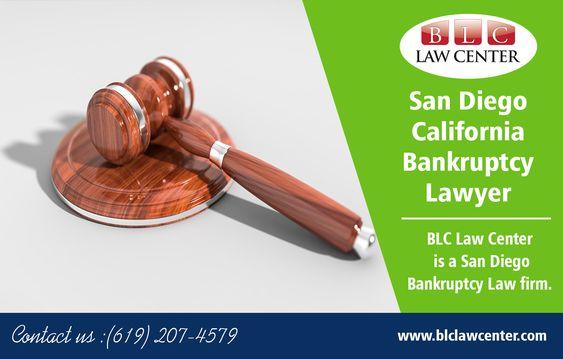 San Diego California Bankruptcy Lawyer